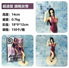 One Piece Boa Hancock with cheongsam Cartoon Model Toy Statue Anime PVC Action Figures 14cm