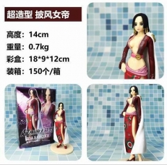 One Piece Boa Hancock with cloak Cartoon Model Toy Statue Anime PVC Action Figures 14cm