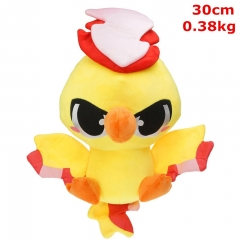 Pokemon Moltres Cosplay Cartoon For Kids Fancy Stuffed Doll Anime Plush Toy