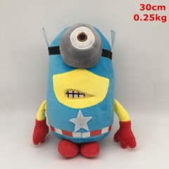 Despicable Me Cos Captain America Cartoon For Kids Gift Doll Anime Plush Toy