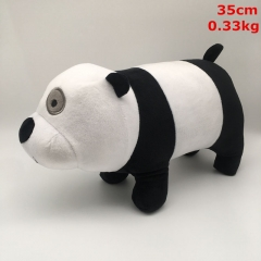 We Bare Bears Cosplay Cartoon For Kids Gift Doll Anime Plush Toy