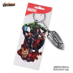 Avengers: Infinity War Cosplay Movie Shield Cartoon Anime Keychain Alloy Key Chains