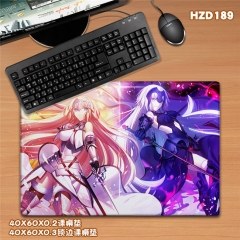Japanese Fate Grand Order Anime Cartoon Mouse Pad Fancy Print Mouse Pad
