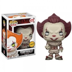 Funko POP Stephen King's It Pennywise PVC Model Toys Anime Cartoon Figures 472#