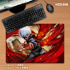 Japanese Tokyo Ghoul Anime Cartoon Mouse Pad Fancy Print Mouse Pad