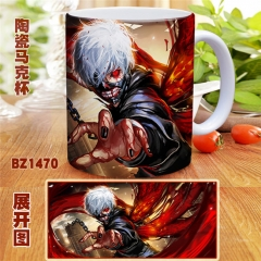 Japanese Tokyo Ghoul Anime Cartoon Cup Colorful Mug Cup