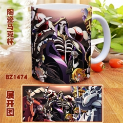 Japanese Overlord Anime Cartoon Cup Colorful Mug Cup
