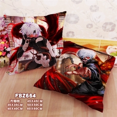 Japanese Tokyo Ghoul Cartoon Pillow Square Stuffed Bolster