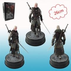 The Witcher 3 Dark Horse Geralt of Rivia Cosplay Model Toy Anime Figure
