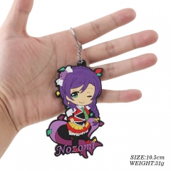 Japanese Cartoon Lovelive Kawaii Soft Plastic Keychain