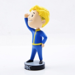 Fallout 4 Game Vault Boy Cartoon Model Toys Statue Anime PVC Figure