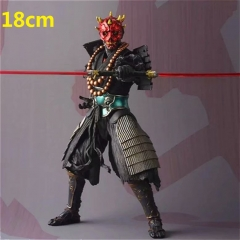 Star Wars Derth Maul Cartoon Model Toy Statue Collection Anime PVC Action Figure 18cm