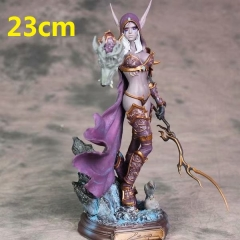World of Warcraft Model Toy Statue Anime PVC Action Figures 23cm