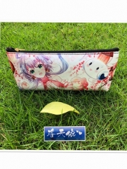 Vocaloid Cosplay Cartoon Cheapest For Student Anime PU Pencil Bag