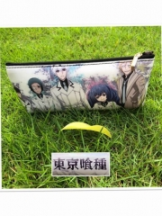 Tokyo Ghoul Cosplay Cartoon Cheapest For Student Anime PU Pencil Bag