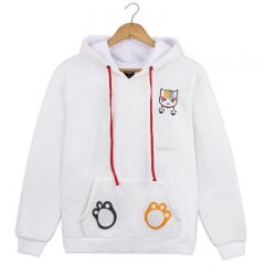 Natsume Yuujinchou Cute Cartoon Hoodie Wholesale Anime Hooded Sweatshirt Hoodie