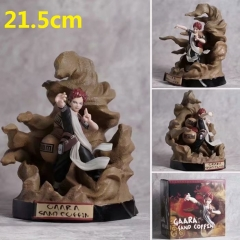 Naruto Gaara Cartoon Model Toy Statue Collection Anime PVC Figures 21.5cm