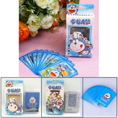 Japan Doraemon Kawaii Cartoon Poker Paper Fancy Poker