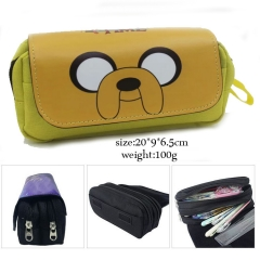 Adventure Time Cosplay Cartoon Pen Case For Student Anime Pencil Bag