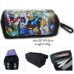 Undertale Cosplay Cartoon Pen Case For Student Anime Pencil Bag