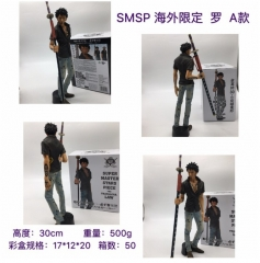 One Piece Cartoon Model Toys Statue Trafalgar Law Anime PVC Figure 30CM