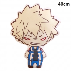 My Hero Academia Cartoon Bolster bakugo katsuki Printed Anime Pillow