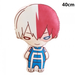 My Hero Academia Cartoon Bolster Todoroki Shoto Printed Anime Pillow