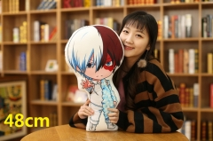 My Hero Academia Cartoon Bolster Todoroki Shoto Printed Anime Long Pillow