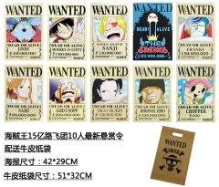 One Piece Cosplay Japanese Cartoon Anime Poster (10pcs/set)