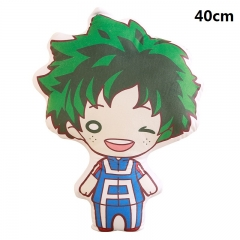 My Hero Academia Cartoon Bolster Midoriya Izuku Printed Anime Pillow