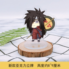 Popular Naruto Cute Acrylic Cartoon Standing Plates Anime Decoration Figures