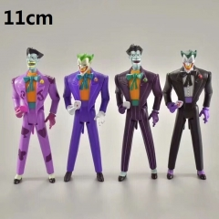 4pcs/set Batman Joker Collection Model Toy Statue Anime PVC Figure 11cm