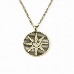 Dark Souls Cosplay Alloy Necklace Decoration Kawaii Necklace For Men