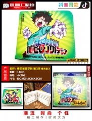 Boku no Hero Academia / My Hero Academia Cosplay Cartoon Purse Anime Folding Short Wallet