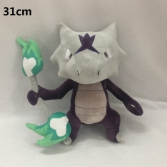 Pokemon Marowak Cartoon Stuffed Doll Wholelsale Kawaii Anime Plush Toys 31cm