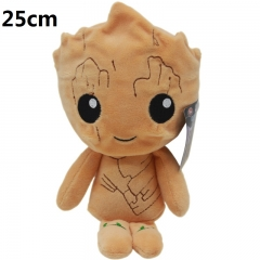 Guardians of the Galaxy Groot Cartoon Stuffed Doll Wholelsale Kawaii Anime Plush Toys 25cm