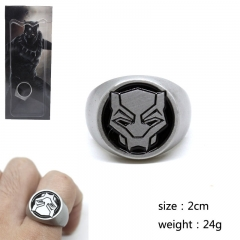Black Panther Cosplay Movie Decoration Fingers Anime Alloy Ring