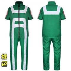 Boku no Hero Academia My Hero Academia Game Character Cosplay Costume Cotton Short Sleeves Anime Clothes