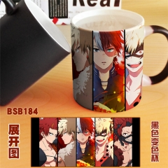 Boku no Hero Academia My Hero Academia Cartoon Colorful Cup Coffee Mug Cups Will Change Color Anime Cup
