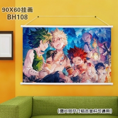 Boku no Hero Academia My Hero Academia Game Fancy Wallscrolls Decoration Anime Painting