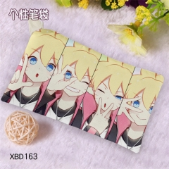 Naruto Cosplay Cartoon Canvas For Student Anime Pencil Bag