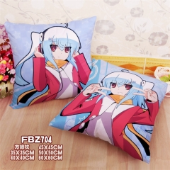 Bilibili Print Fancy Pillow Square Stuffed Bolster Anime Pillow