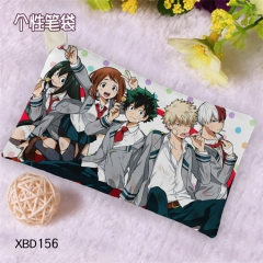 Boku no Hero Academia My Hero Academia Cosplay Cartoon Canvas For Student Anime Pencil Bag