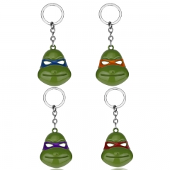 Teenage Mutant Ninja Turtles Cartoon Alloy Keychain Decoration Pendant