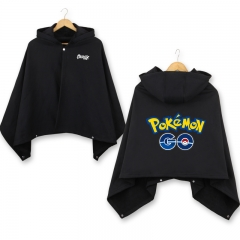 2Colors Pokemon Colorful GO Cosplay Cloak Halloween Fashion Anime Party Clothes Costume