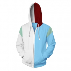 My Hero Academia/Boku No Hero Academia 3D Cosplay Cartoon Hooded Fashion Long Sleeve Hoodie