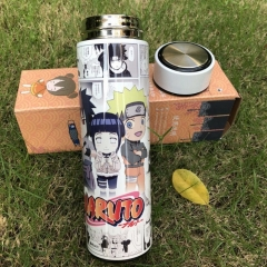 Naruto Cosplay Cartoon Colorful SUS304 Anime Vacuum Cup