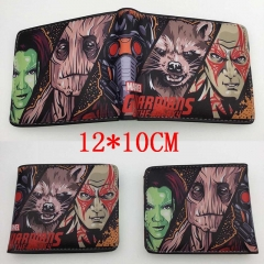 Guardians of the Galaxy Hot Anime Cartoon PU Wallet Bifold Coin Purse