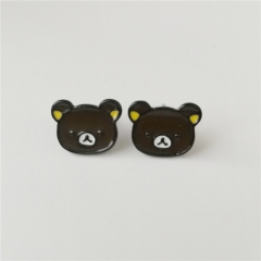 Japan Rilakkuma Cute Alloy Earring Cartoon Fancy Earring
