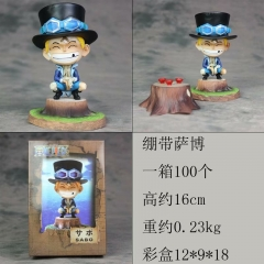 One Piece Sabo New Cartoon Model Toys Statue Japanese Anime PVC Figure 16cm